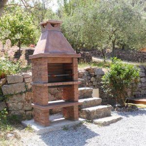 foto Barbecue de Piedra para su hogar