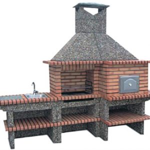 image of barbecue and oven