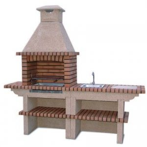 image of brick barbecue