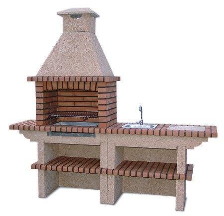 image of brick barbecue