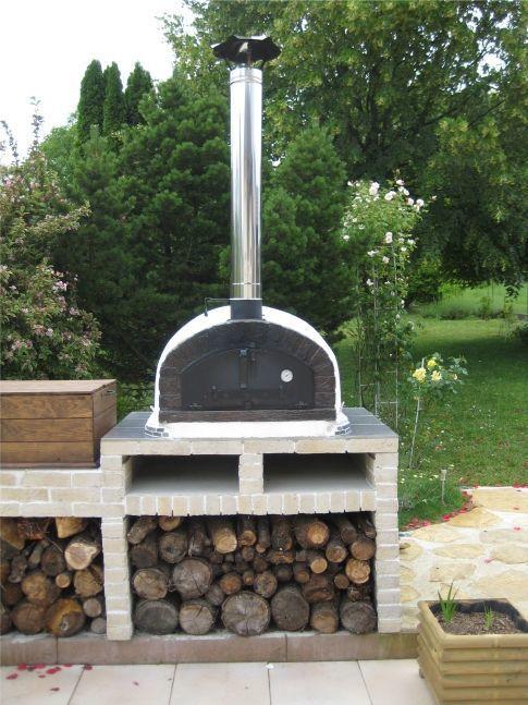 image of pizza oven brazza