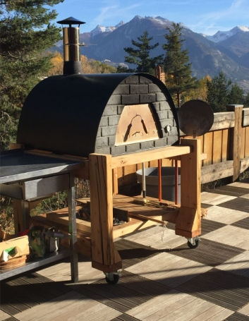 image of oven maximus prime black