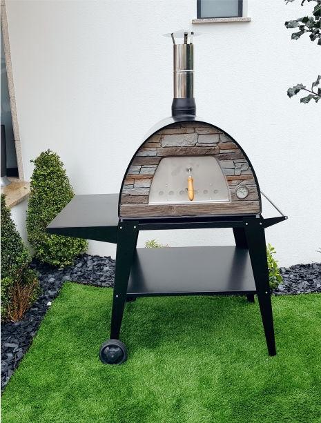 image of black maximus oven