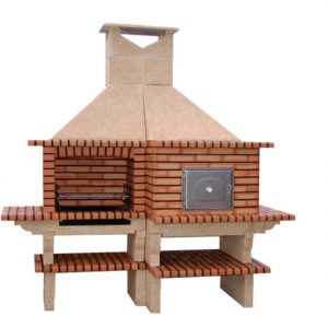 image of bbq pizza oven