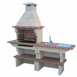 brick barbecue grill