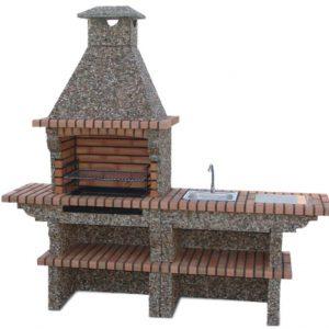 image du Barbecue exterieur Brique