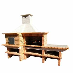 handmade barbecue and oven