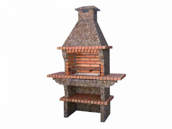 brick bbq grill