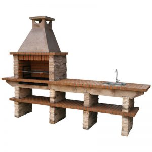 image of outdoor_stone_barbecue