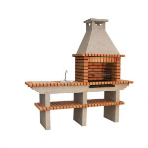 image of portuguese_brick_bbq_with_sink