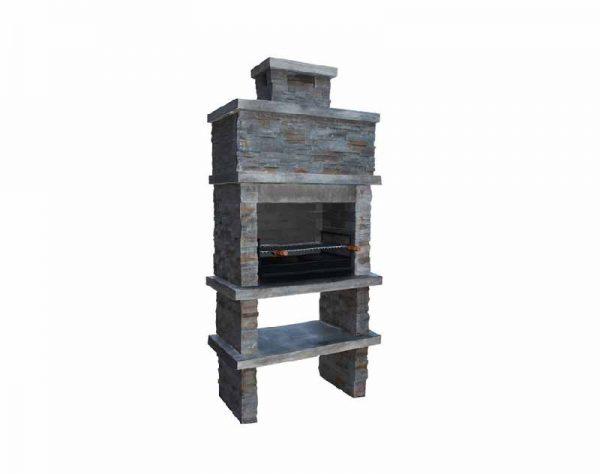 barbecue stone