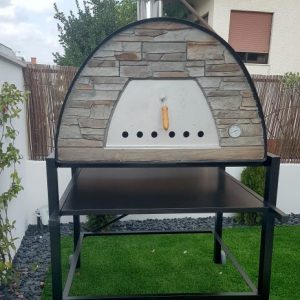 image of pizza-oven-black-maximus-prime-arena-with-black-stand