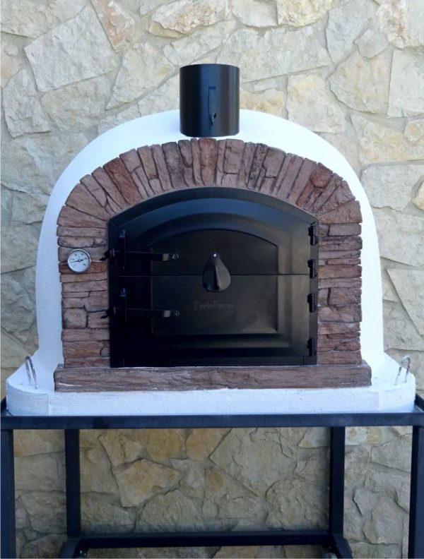 image of pizza-oven-ventura-red-90cm