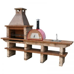 image du stone_barbecue_with_wood_fired_oven