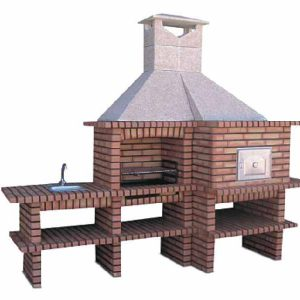 wood fired barbecue