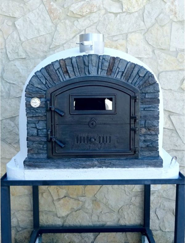 image of wood-pizza-oven-ventura-black