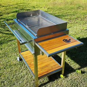 barbecue pivotant